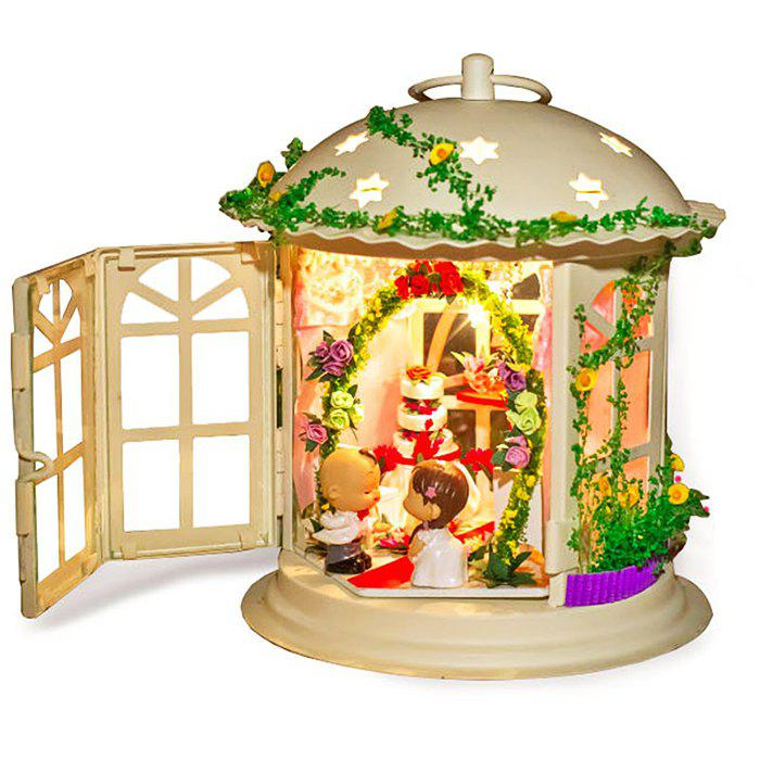 Shops Creative DIY House Palace of Love Artificial Assembly Model Gift