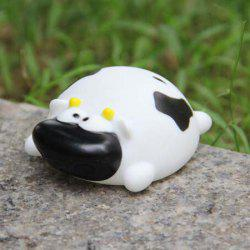 Cute Cow Shape Vinyl Squirt Toy for Kids Bathing Paddle Essential -