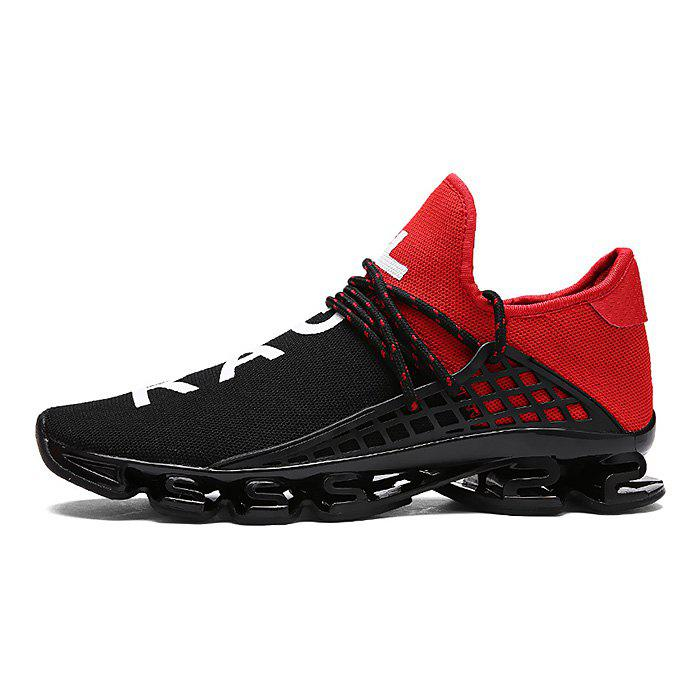 Store Stylish Lace Up Light Outdoor Walking Soccer Damping Athletic Shoes for Men