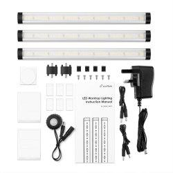 zanflare KU - 2835A - 24D - 0 72 LED Interactive Undercabinet Light -