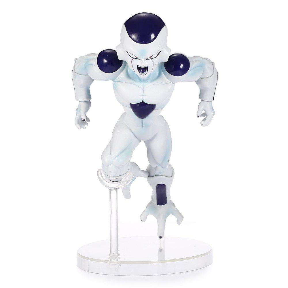 Outfits 18cm Lizard Man PVC Figurine Japanese Cartoon Character for Collection