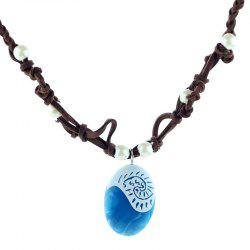 Fashionable Ocean Style Stone Necklace -