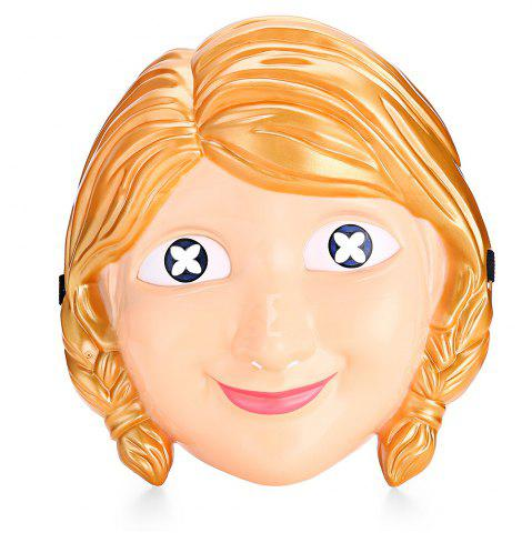 Cartoon Princess Character Halloween Themed Mask