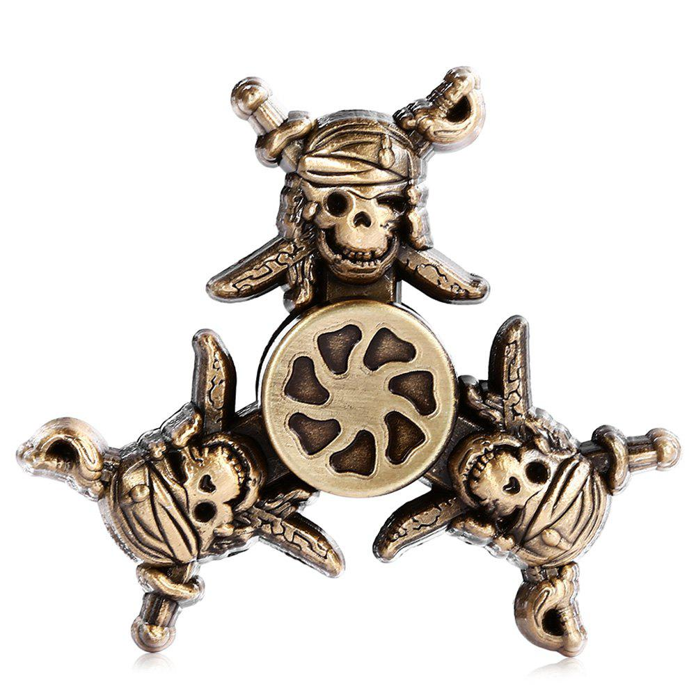 Outfit Creative Retro Pirate Style Zinc Alloy Fidget Tri-spinner