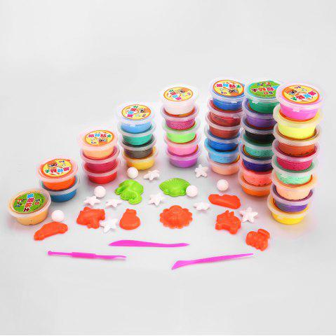 36 Colors DIY Stress Relief Toy Colorful Resin Clay Mud for Kids Handicraft Game