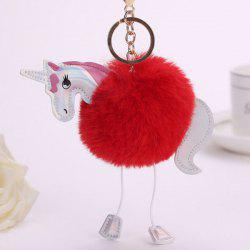 Lovely Cartoon Horse Style Hang Decoration for Key Chain / Bag -