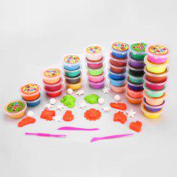 36 Colors DIY Stress Relief Toy Colorful Resin Clay Mud for Kids Handicraft Game -