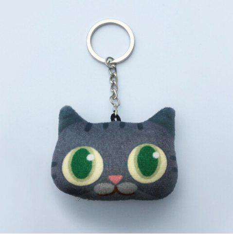Cartoon Style Plush Key Chain Hang Decoration for Mobile Phone / Bag / Car