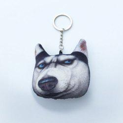 Cartoon Style Plush Key Chain Hang Decoration for Mobile Phone / Bag / Car -
