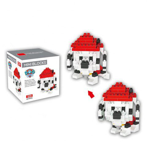 Affordable LOZ ABS 221Pcs Dog Style Building Block Educational Toy Birthday Present -   Mobile