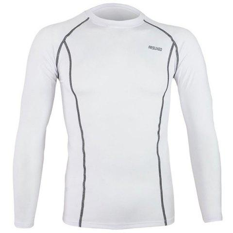 Shops Arsuxeo C19 Soft Cycling Jersey Bike Bicycle Racing Running Long Sleeve Clothes for Male -   Mobile