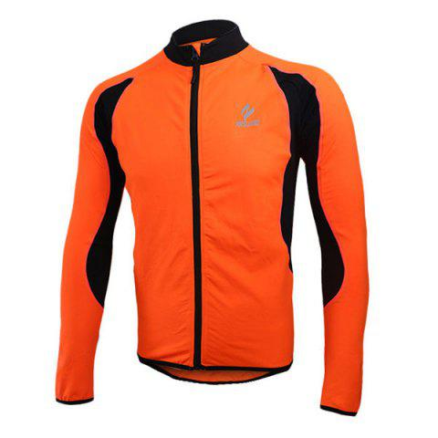 Affordable Arsuxeo 130022 Cycling Jersey Bike Bicycle Running Long Sleeve Clothes for Male -   Mobile