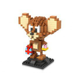 LOZ 280Pcs L - 9446 Tom et Jerry Souris Figure Bloc de Construction Jouet Educatif DIY -