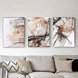 3PCS Colourful Abstract Style Decor Picture Artwork Wall Art Painting Print -
