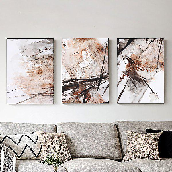 3PCS Colourful Abstract Style Decor Picture Artwork Wall Art Painting Print