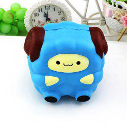 Emulational Sheep Pattern Slow Rising Squishy Stress Relief Toy -