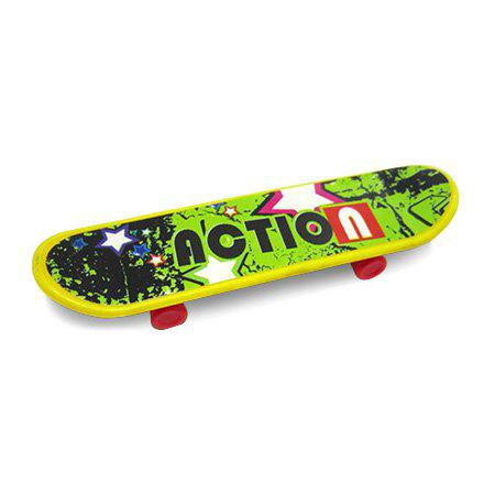 Latest Mini Finger Plastic Desktop Skateboard with Various Pictures