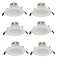 YouOkLight YK4404 3W 3000K 5730 SMD LED Downlight 6PCS AC 85 - 265V -