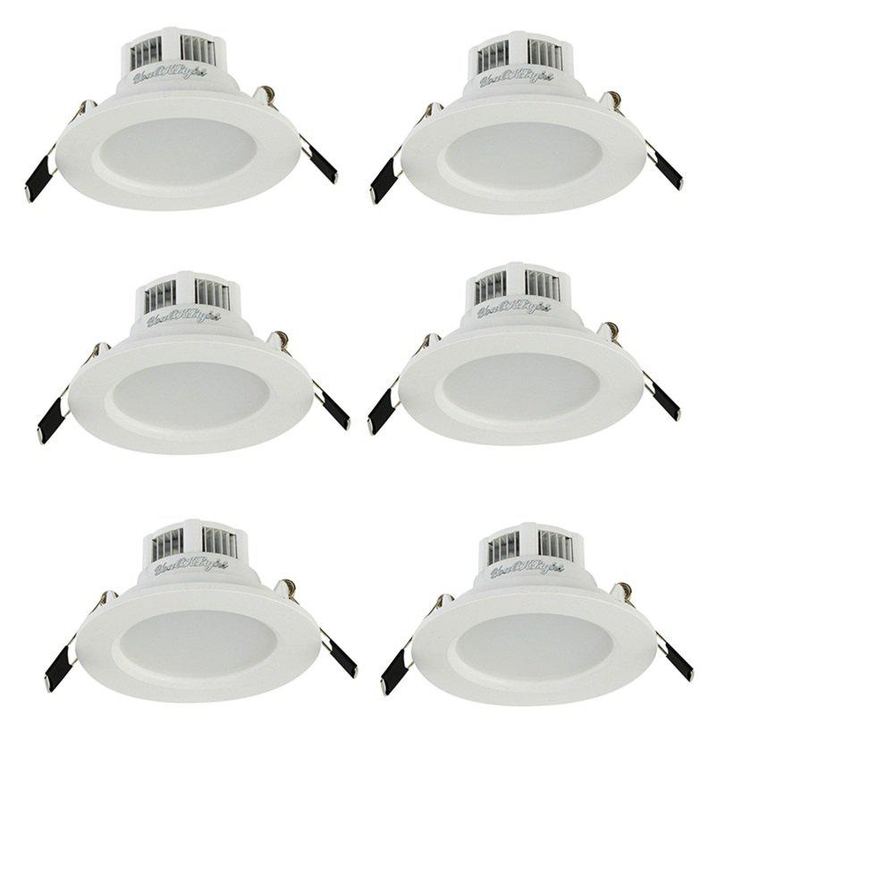 Outfits YouOkLight YK4404 3W 6000K 5730 SMD LED Downlight 6PCS AC 85 - 265V