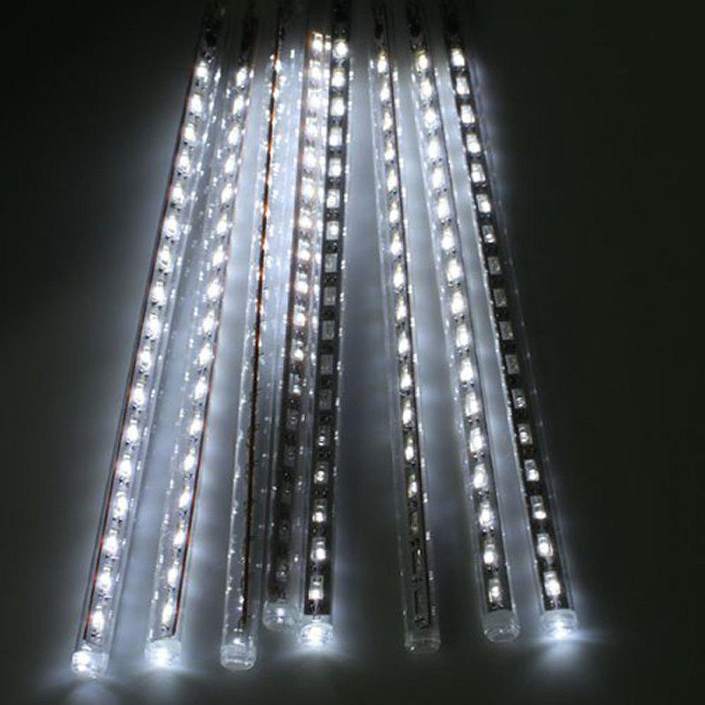 Outfits 50CM 8 Tubes Christmas LED Meteor Shower Rain Lights Snow Falling Raindrop Cascading Outdoor AC 110 - 240V