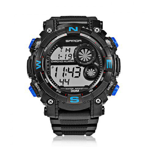 Discount Sanda 323 5304 Sports Multifunctional Men Watch