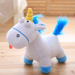 Lovely Unicorn Style Plush Toy Throw Pillow / Back Cushion -
