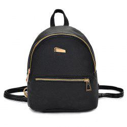 Cute Solid Color Mini Backpack for Women -