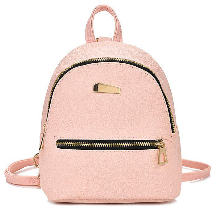 Chic Cute Solid Color Mini Backpack for Women