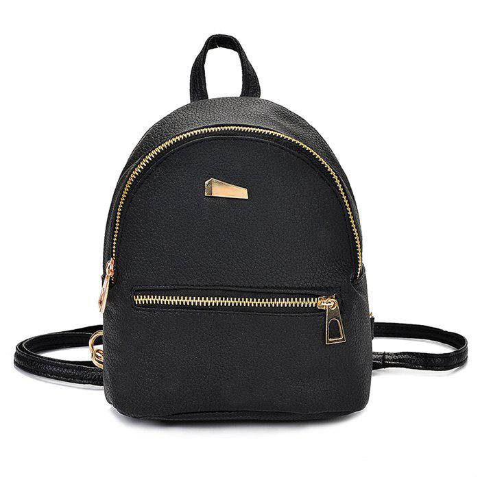 Cheap Cute Solid Color Mini Backpack for Women