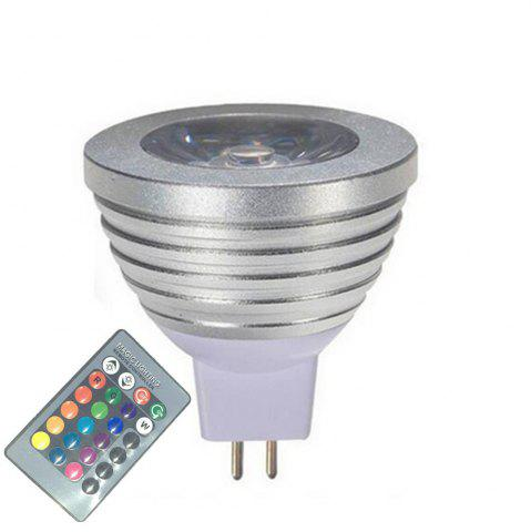 OMTO MR16 3W RGB Color Changing Spotlight with IR Remote Control Mood Ambiance Lighting 16 Color Dimmable 12V