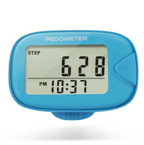 Trendy U - Trak CR - 873 Double Line LCD Display Pedometer Step Calories Distance Tracker
