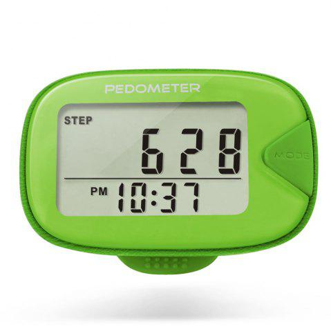 Best U - Trak CR - 873 Double Line LCD Display Pedometer Step Calories Distance Tracker