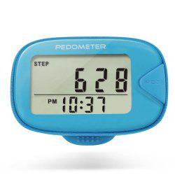 U - Trak CR - 873 Double Line LCD Display Pedometer Step Calories Distance Tracker -