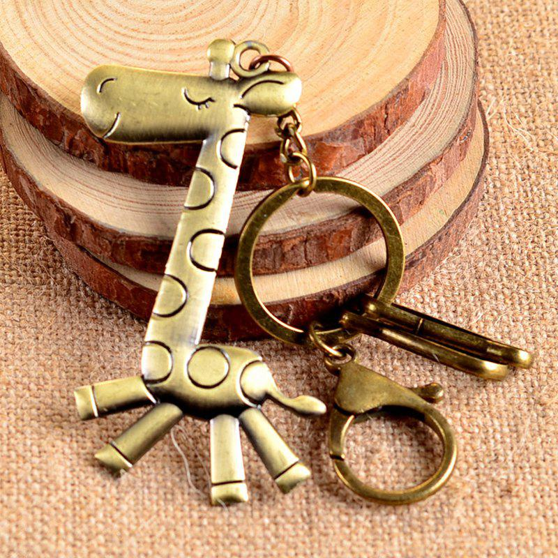Outfits Popular Retro Keychain Christmas Elk Toy / Gift