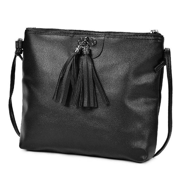 Outfit Woman Contract Tassel Stylish Design Portable Shoulder Bag