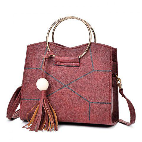 Trendy Vintage PU Tote Shoulder Bag for Women a09fdb9b3f1a4