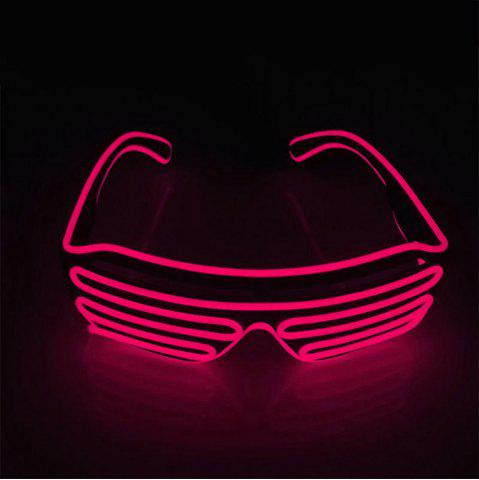 Sale YouOKLight DC 3V 3 Modes Sound Control Flash El LED Glasses Luminous Party Lighting Colorful Glowing Classic Toys for Dance DJ Party Mask 1PC
