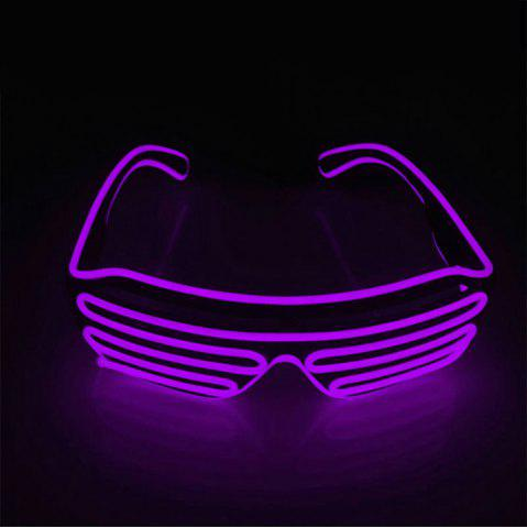 Latest YouOKLight DC 3V 3 Modes Sound Control Flash El LED Glasses Luminous Party Lighting Colorful Glowing Classic Toys for Dance DJ Party Mask 1PC
