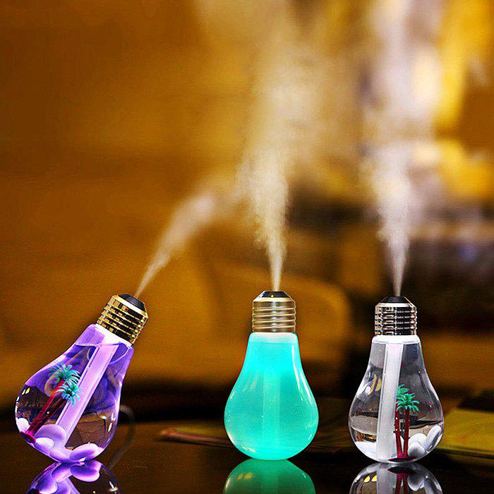 Brelong USB DC 5V 7 Colors Changes Night Light Ultrasonic Humidifier Air Purifier 400MLHOME<br><br>Color: SILVER; Wattage: 2W; Mini Voltage: 5V; Light Source Color: RGB; Light Type: LED Night Light; Power Source: DC 5V; Connector Type: USB; Features: Color-changing; Color Temperature or Wavelength: 625nm/520nm/455nm; Quantity: 1; Style: Comtemporary,Modern;