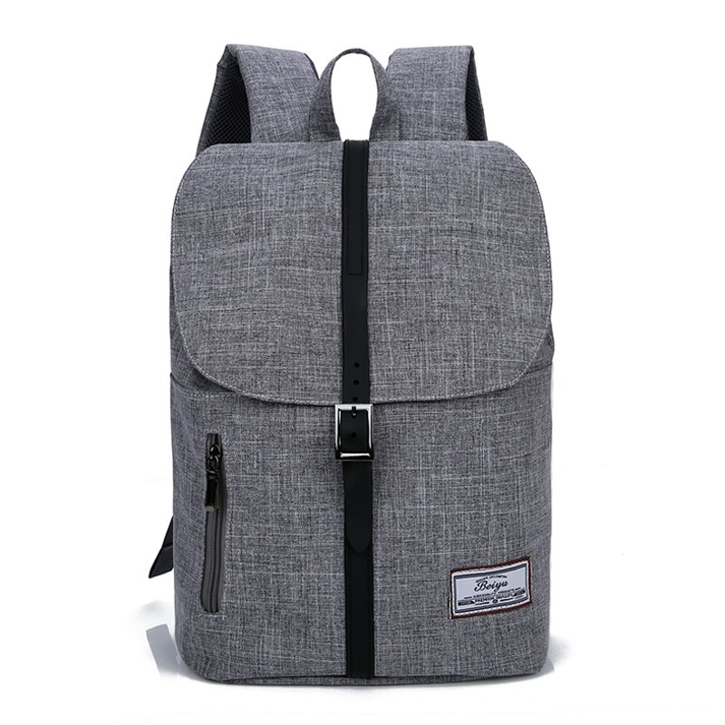 c1fe7a45e8 Trendy Stylish Canvas Leather-trimmed Backpack
