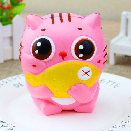 Outfit Squishy Slow Rising Anti-stress Cute Cat Toy