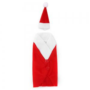 Yeduo Christmas Red Wine Bottle Bag Cover Bags Dinner Table Home Decoration -