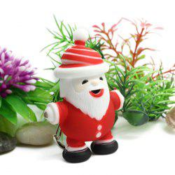 Christmas Santa Claus ABS Key Ring with Light / Sound -