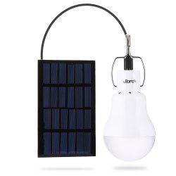 Utorch 130lm Portable LED Bulb Light Solar Energy Lamp -