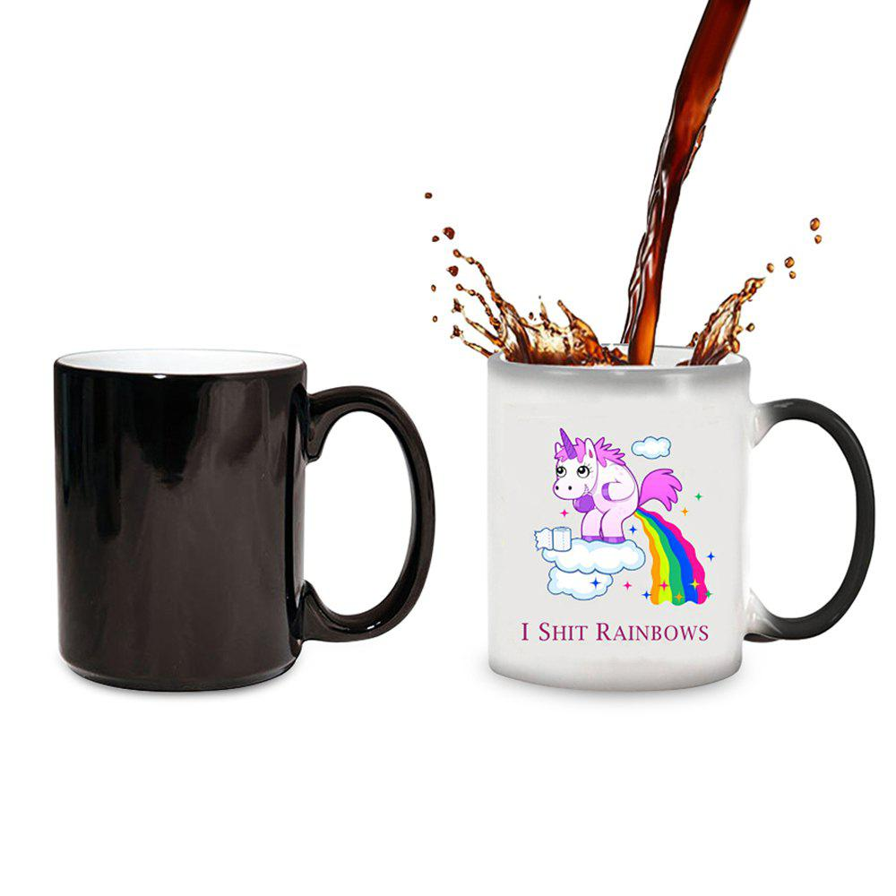 Outfits Cute Style Magic Heat Sensitive Color Changing Coffee Mug