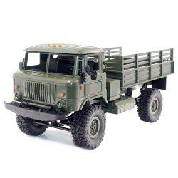 WPL B - 24 1:16 2.4G Mini Off-road RC Military Truck RTR Four-wheel Drive / 10km/h Maximum Speed -