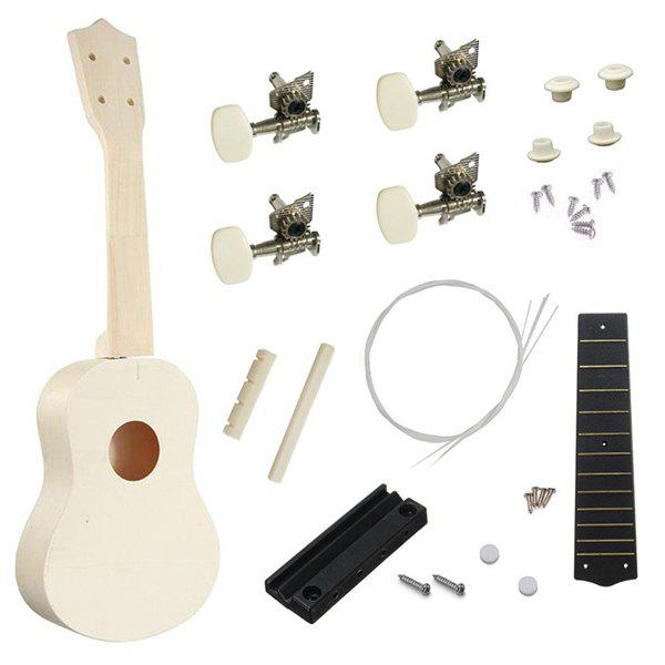 Best 21 inch S Type Ukulele DIY Assemble Accessories Set Toy for Kids