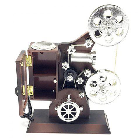 Affordable Movie Projector Plastic Music Box