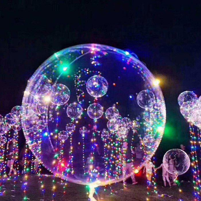 Hot Bobo Balloon LED String Light Battery Powered for Christmas Party Decoration