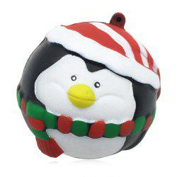 Christmas Style Slow Rising Squishy Toy for Pressure Reducing -